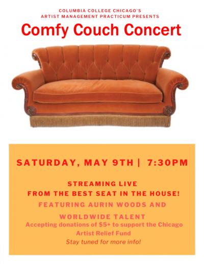 Artist Management Practicum Presents The Comfy Couch Concert