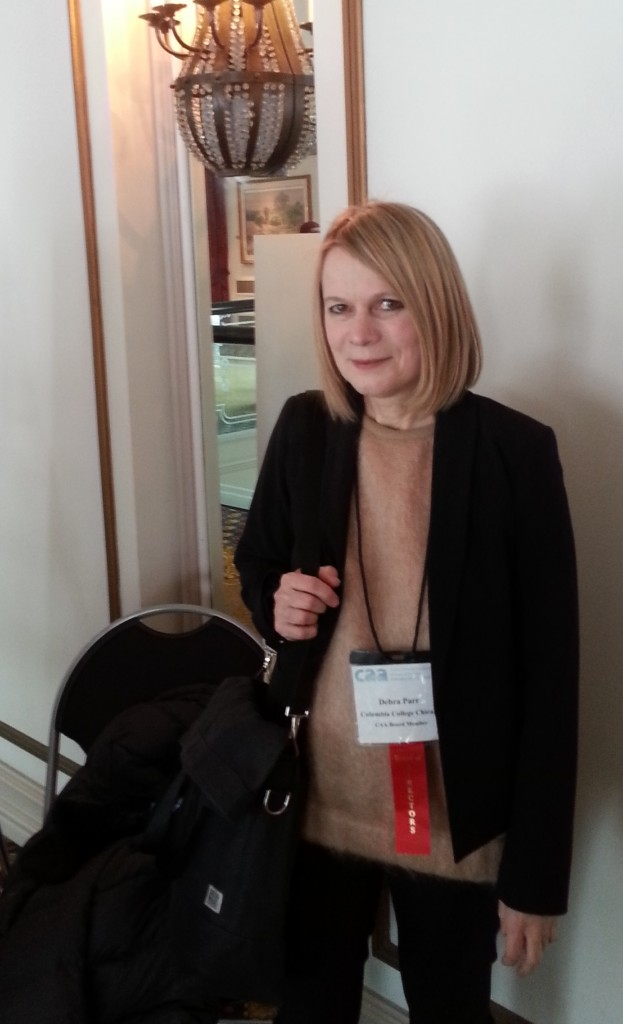 Debra Riley Parr, post-presentation
