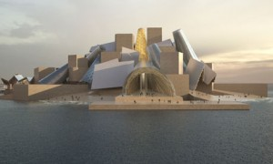 Guggenheim Abu Dhabi. Image Credit: The Guardian