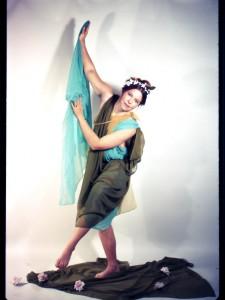 Faith Wilding, Fresno Feminist Art Program, 1971. credit: Isadora Duncan. Collaborative costume image, staging Nancy Youdelman Photography: Dori Atlantis