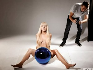 lady gaga artpop koons shoot