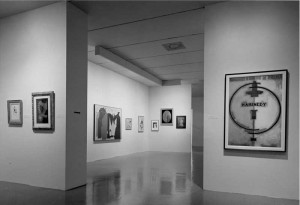 "Installation Photograph, ""Dada, Surrealism and Their Heritage"" 1968, MoMA (IMG: MoMA Archives)"