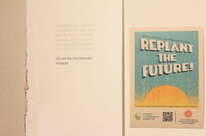 """Replant the Future"" by the Student Sustainability Committee"