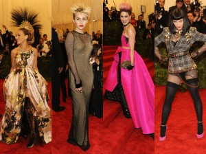 "Celebs ""Performing Punk"" at Met Gala 2013"
