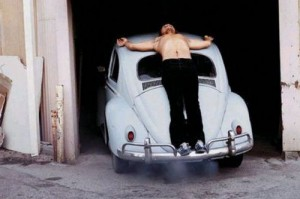 """Transfixed"" by Chris Burden."