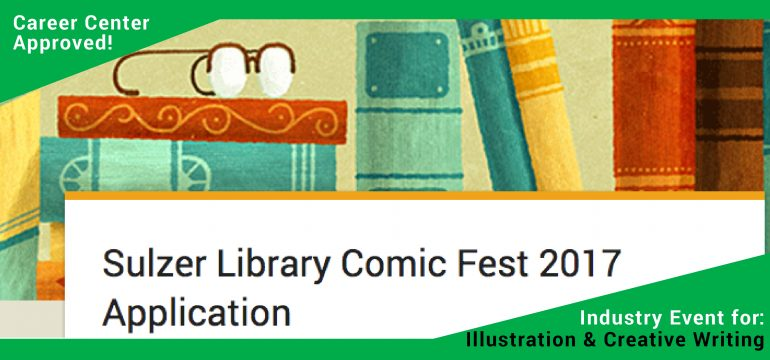 Career Center Approved Event: Sulzer Library Comic Fest 2017