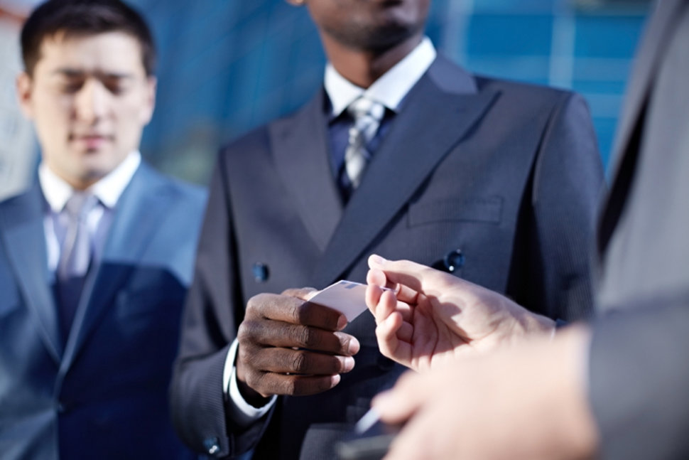 3 rules of business card etiquette career center by robin reshwan contributor us news world report reheart Images