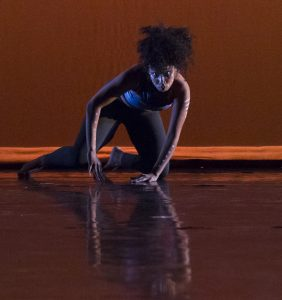 "Amber Johnson in ""Double Dutch Training Ground"" (Photo: William Frederking)"