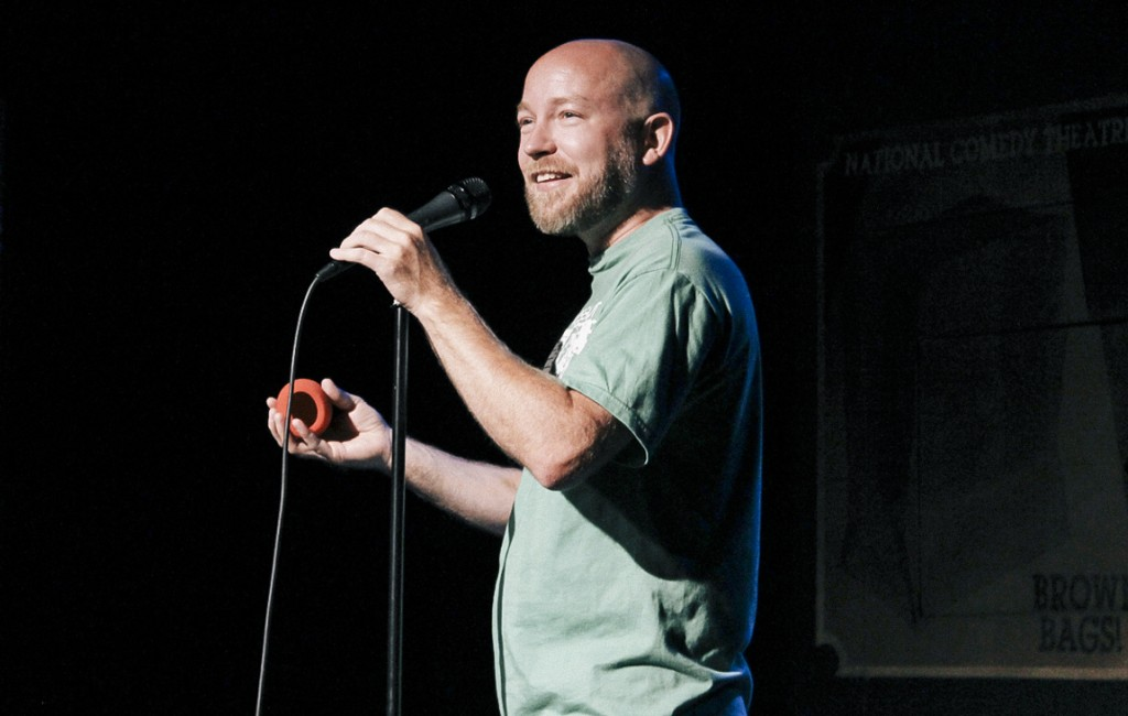 In June, comedian Kyle Kinane (BA '02) headlined Chicago Comedy Night at ComedySportz in Los Angeles. Proceeds from the show benefit the Columbia College Chicago Alumni Scholarship Fund and the Northwestern University Entertainment Alliance West.