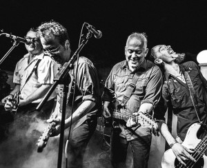 Led by Jon Langford (second from right) and often described as Johnny-Cash-meets the-Clash, the Waco Brothers are known for their raucous live shows.
