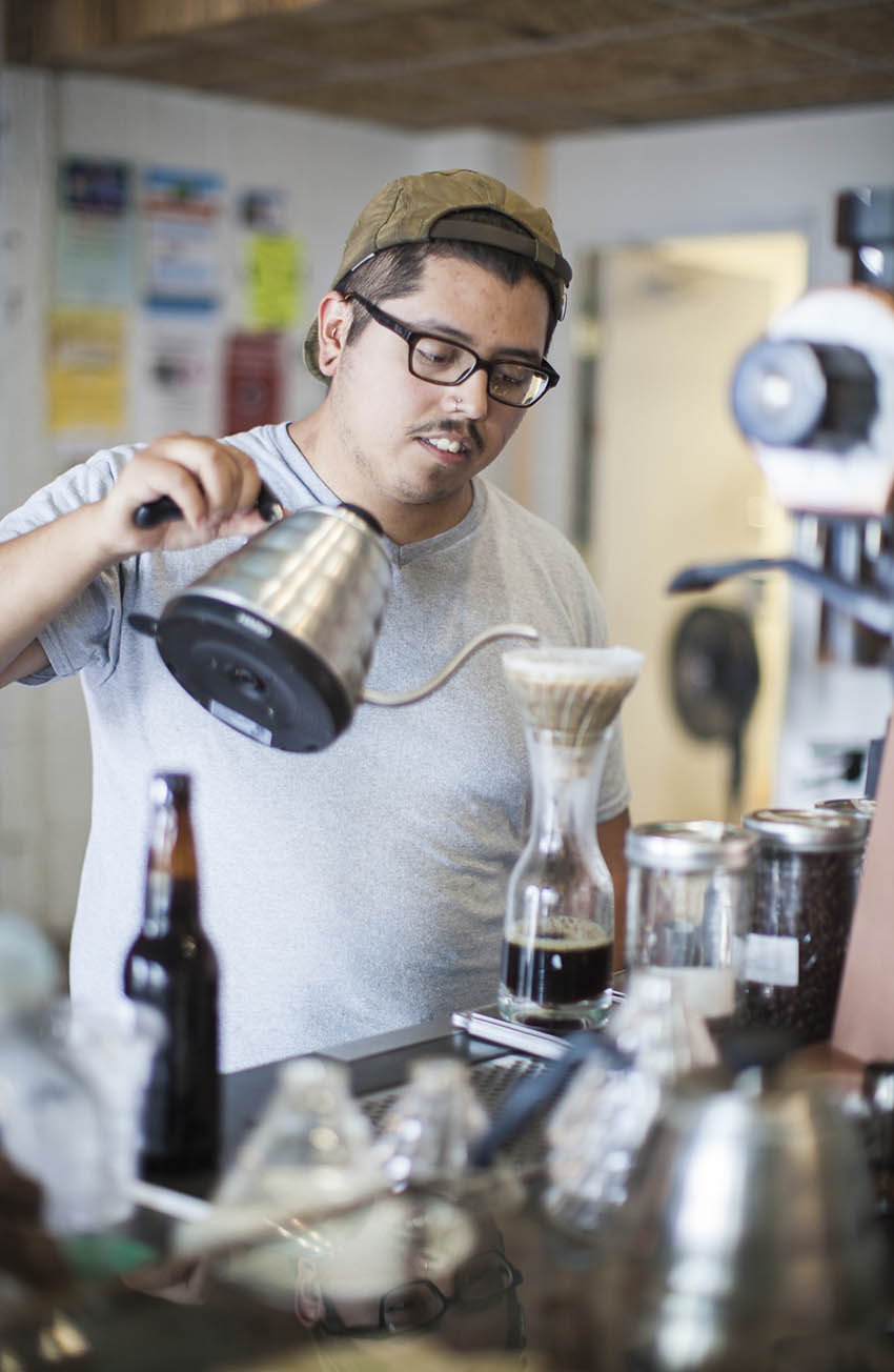 Serious coffee lovers go to Anthology Coffee to get the best brews in town.