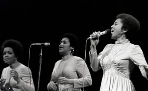 """The Staples Singers"" by Sue Cassidy Clark, from the Center for Black Music Research Library and Archives"