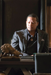 Terrence Howard plays Lucious Lyon, the mogul of Empire Entertainment.