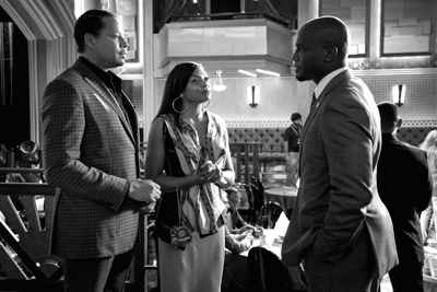 Terrence Howard, Taraji P. Henson and Taye Diggs stand as the three points of a love triangle on Empire.