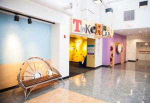 Chicago Children's Museum's Tinkering Lab is one of many places where children can learn through play.