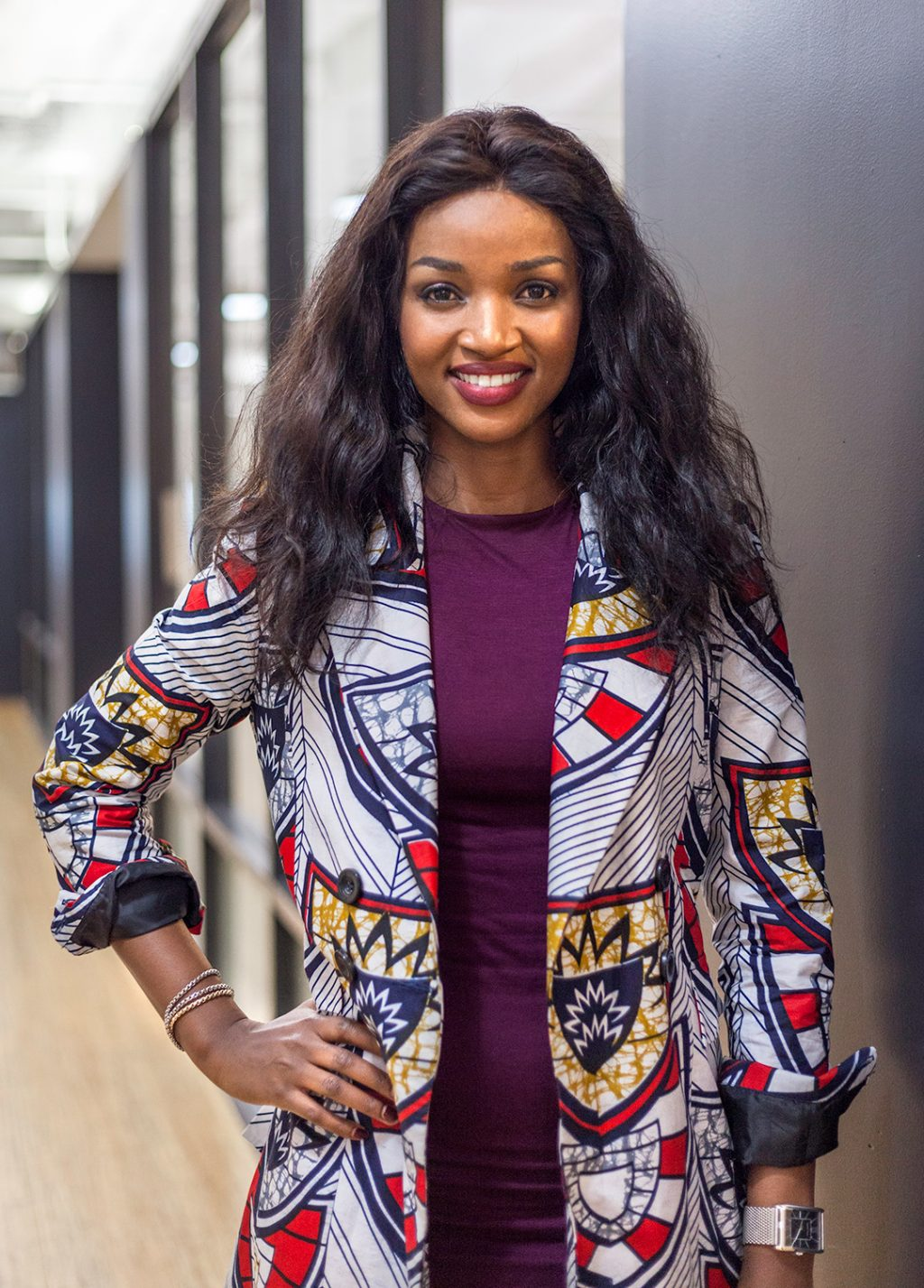 Interview With A Professional Idrine Bishweka Fashion Designer In The Loop