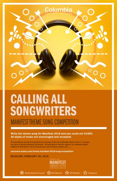 Manifest 2018 Song Competition
