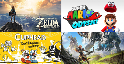 The Top 5 Games of 2017