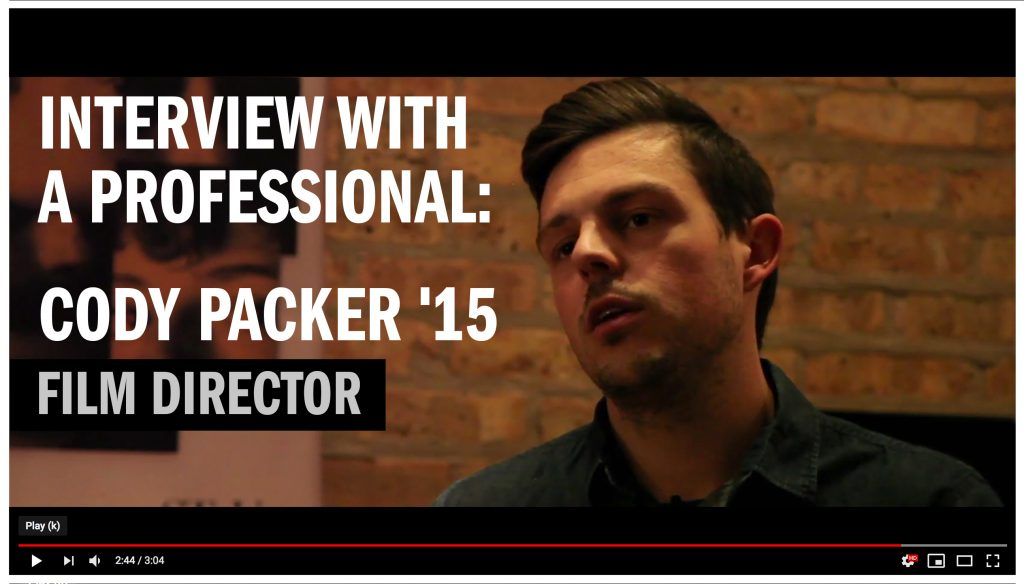 Interview With A Professional Cody Packer 15 Film Director In