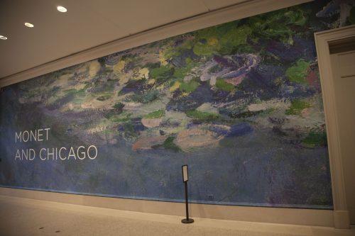 Monet and Chicago exhibit