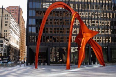 Hotspot: Calder's Flamingo