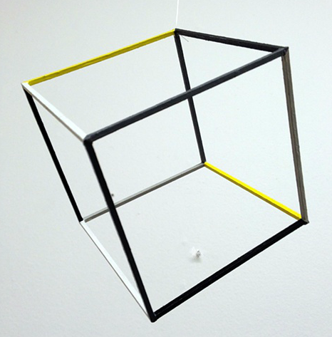 You can find Brent Houston's Untitled Cube at Hinge Gallery.  Picture obtained at hingegallery.com