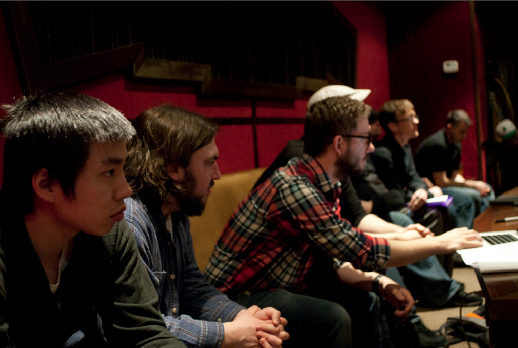 I-Hung Hsu, Cooper Rich, Chris Beckstrom, Jon Bennan (photo credit Jeremy Dop)