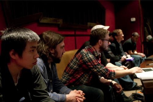 I-Hung Hsu, Cooper Rich, Chris Beckstrom, Jon Bennan (photo credit Jeremy Dop)