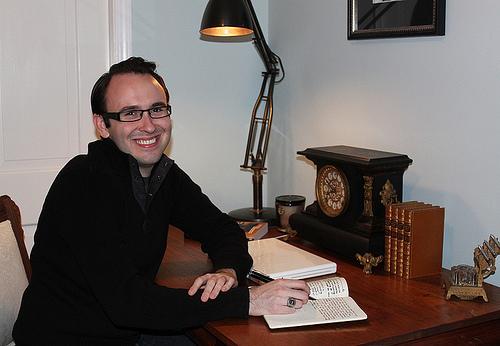 Nonfiction MFA Student Spotlight: Patrick Thornton