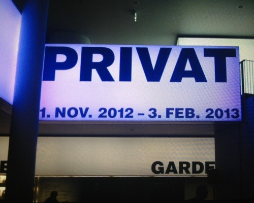"""Privat"" Opening in Frankfurt"