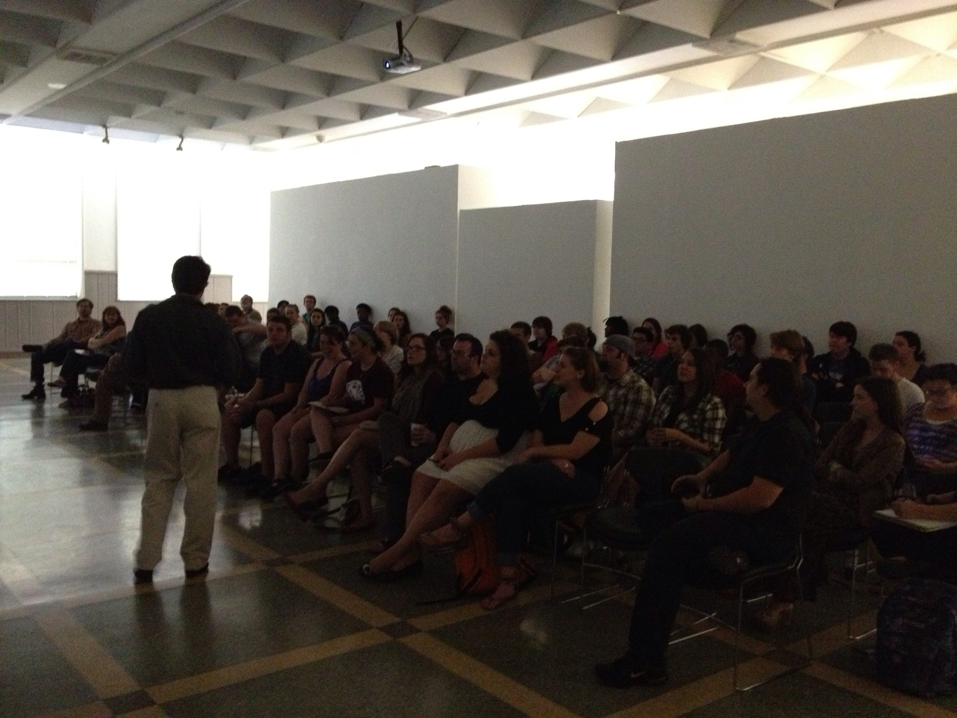 Giving Artist Talks: Why it's Important to Take Advantage of Every Opportunity