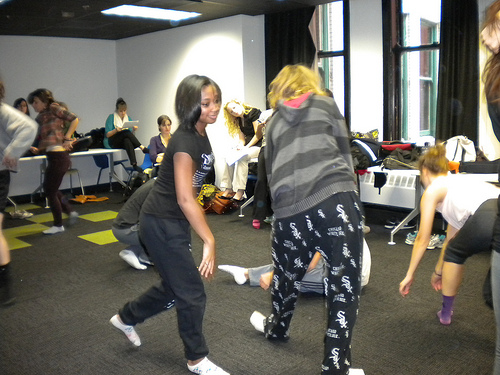 Collaboration Between Theatre and Dance/Movement Therapy Students