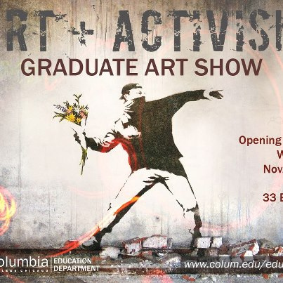 Art + Activism Show on Wednesday, November 28th