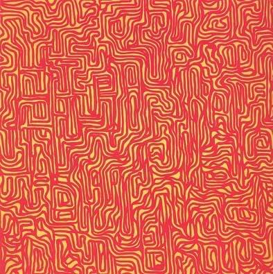 """""""Irregular Grid"""" by Sol LeWitt, 1999"""