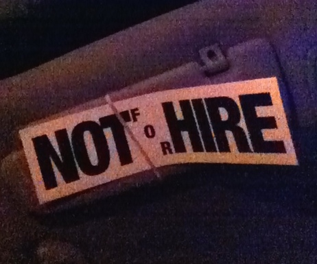 New Year, Not For Hire… NOT!