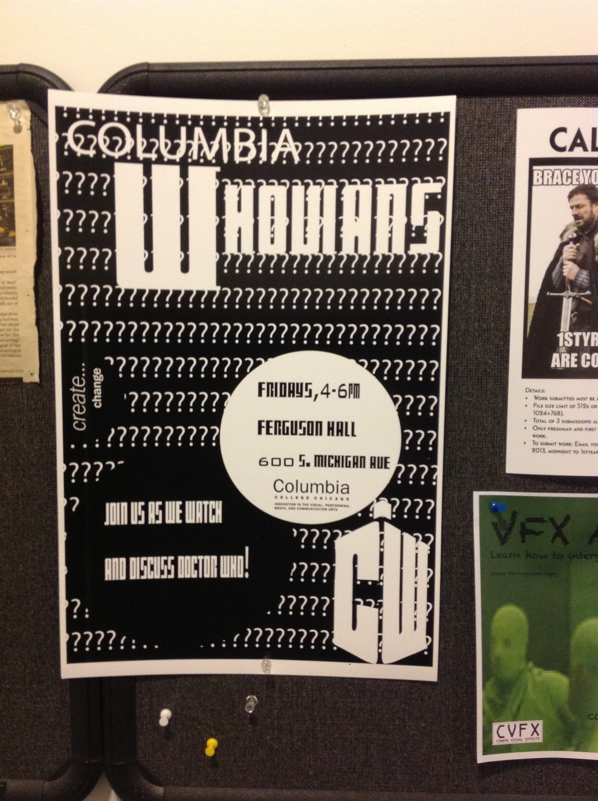 Wibbly, Wobbly, Timey-Wimey Fun at Columbia College Chicago