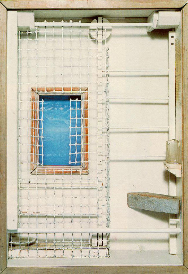 Toward the Blue Peninsula c. 1953 by Joseph Cornell