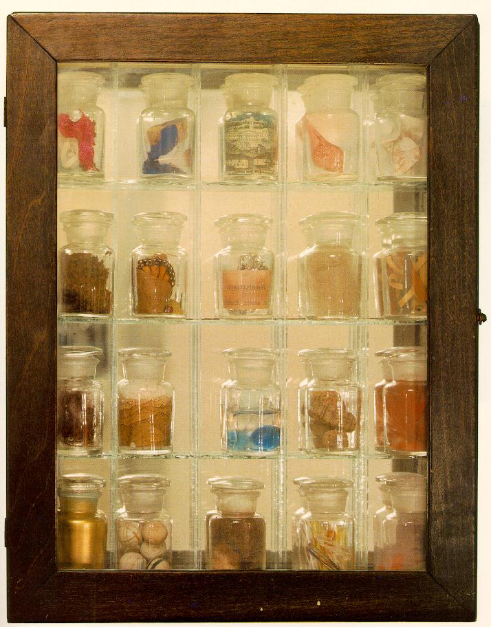 Untitled (Pharmacy) 1943 by Joseph Cornell