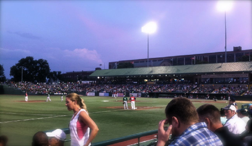 South Bend Silver Hawks versus Fort Wayne Tincaps.