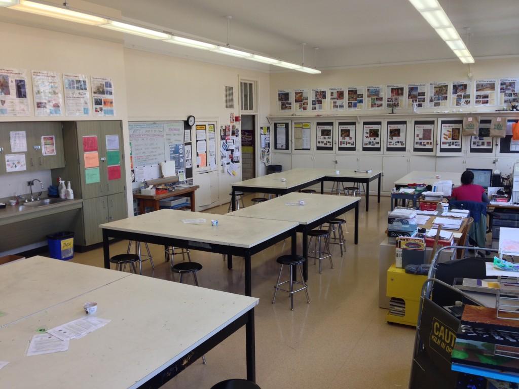 Inside the Artroom LPHS (Photo Credit: Arlo Meyer)