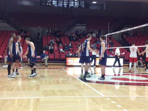 Covering the CVC match between Thiel College and host team Carthage College.