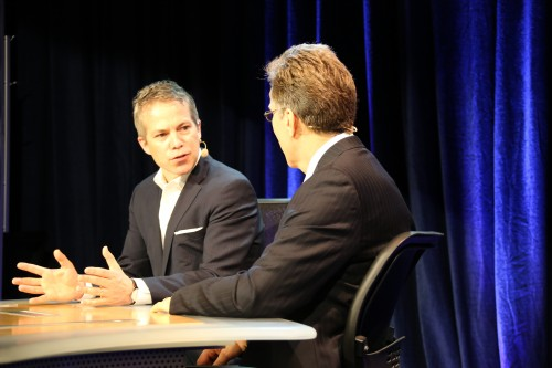 Steve Waskul interviewing Geir Skaaden, the Senior Vice President of Content at DTS, Inc.