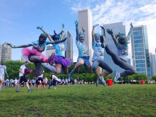 Chicago Color Run 2014