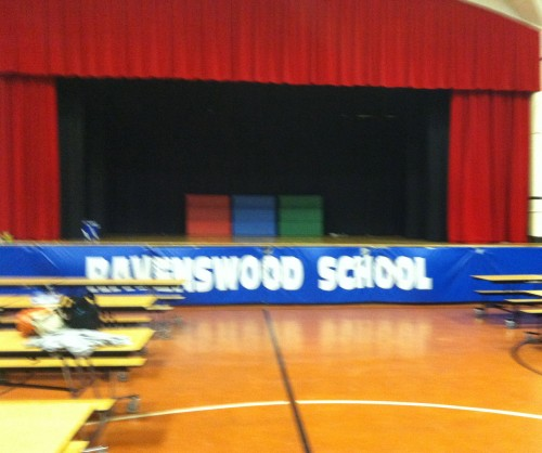 Ravenswood's Performance Space, I am so excited to have my students perform here!  Christine Reed. Elementary Education MAT. 7/24/14