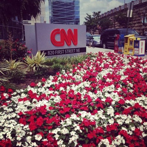 My trip to CNN.