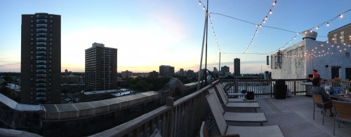 View from the Roof on July 4