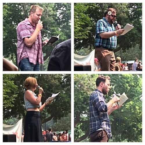 Readings at the Pitchfork Book Fort