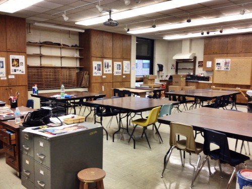 One of My Classrooms Cherie Tymkiw Art Ed MAT 8/21/14