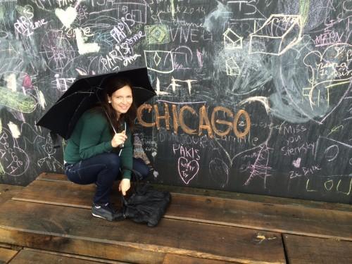 Inspiration Chalkboard Outside in Paris