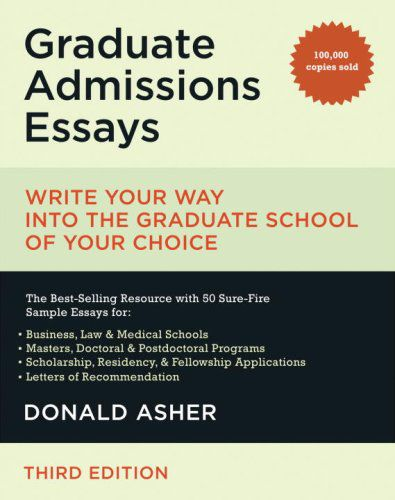 graduate school admissions essays 4 sample graduate school essays #1 from working poor to elite scholar one of the proudest accomplishments of my life was earning my college degree, despite the.